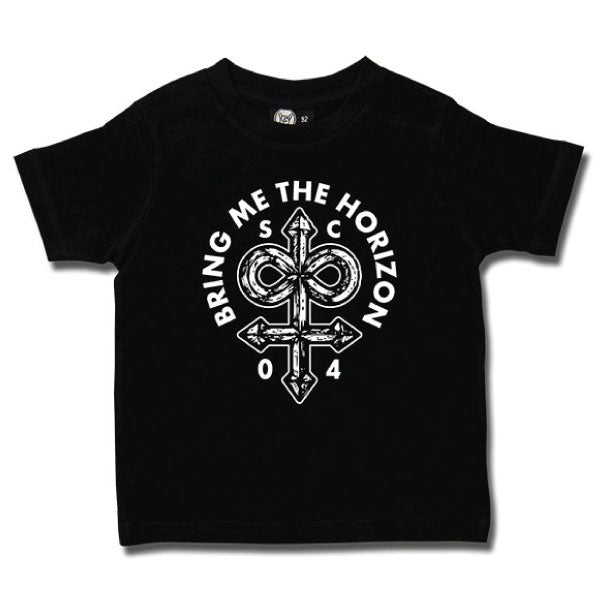 Bring Me The Horizon Kids T-Shirt Black - Infinite Unholy