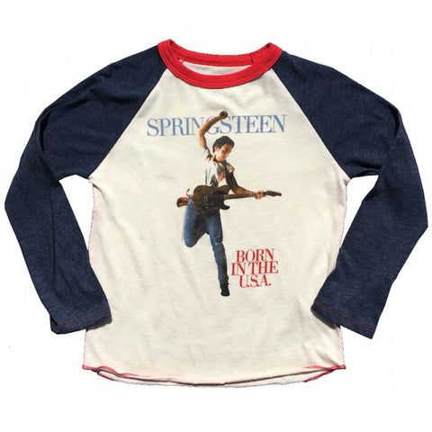 Bruce Springsteen Long Sleeve Kids T-Shirt