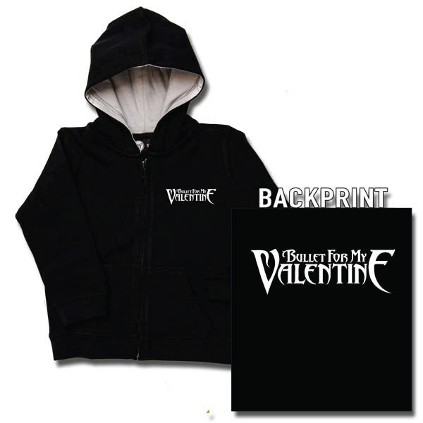 Bullet For My Valentine Baby Hoody - Black