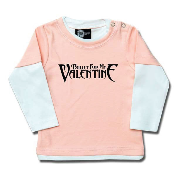 Bullet For My Valentine Baby Long Sleeve T-Shirt - Pink