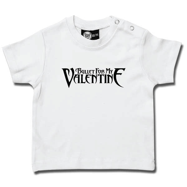 Bullet For My Valentine Baby T-Shirt - White