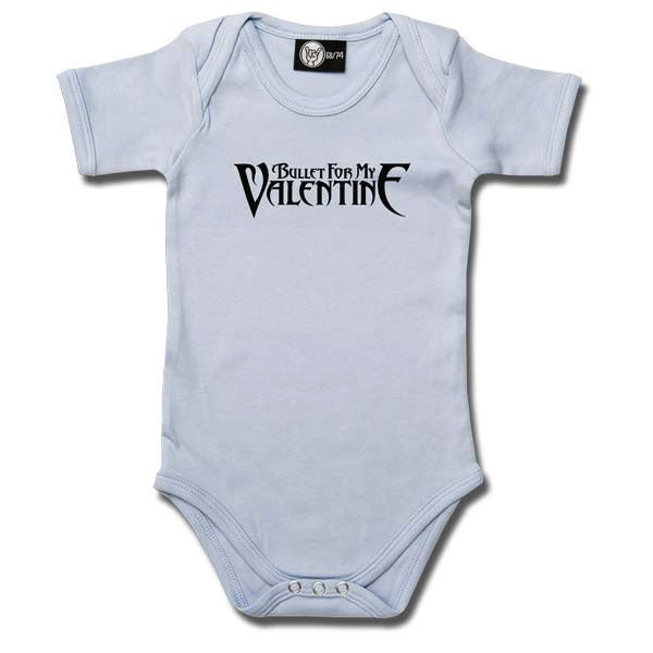 Bullet For My Valentine Babygrow - Blue