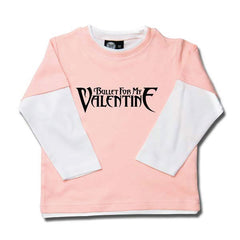 Bullet For My Valentine Long Sleeved Kids T-Shirt - Pink