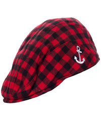 Kids Cap - Red and Black