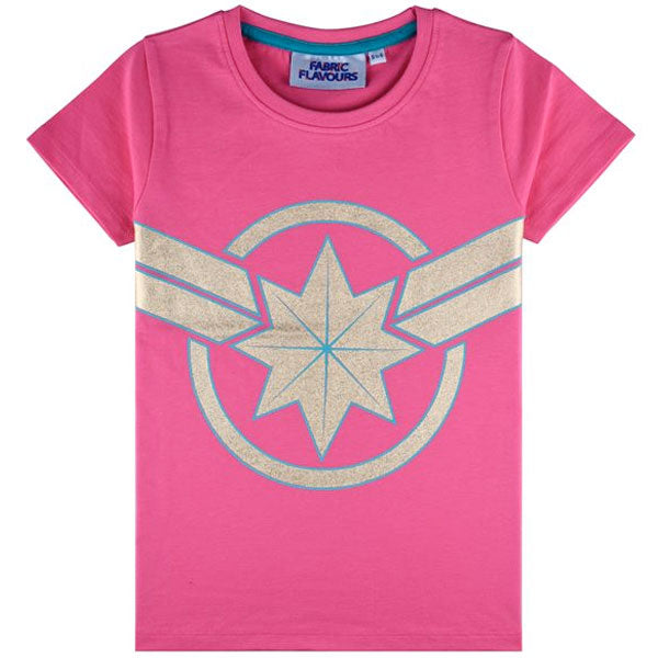 Captain Marvel Kids T-Shirt - Captain Marvel Shield Logo