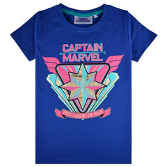 Captain Marvel Kids T-Shirt - Protector Of The Skies
