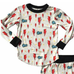 David Bowie Kids Thermal Pyjamas - Logo
