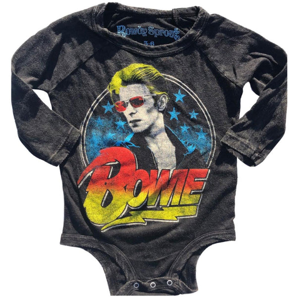 David Bowie Babygrow - David Bowie Logo