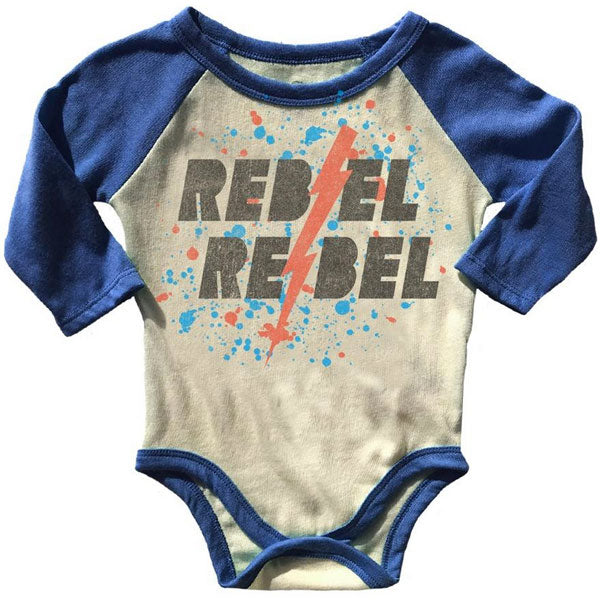 Copy of David Bowie Babygrow - Rebel Rebel