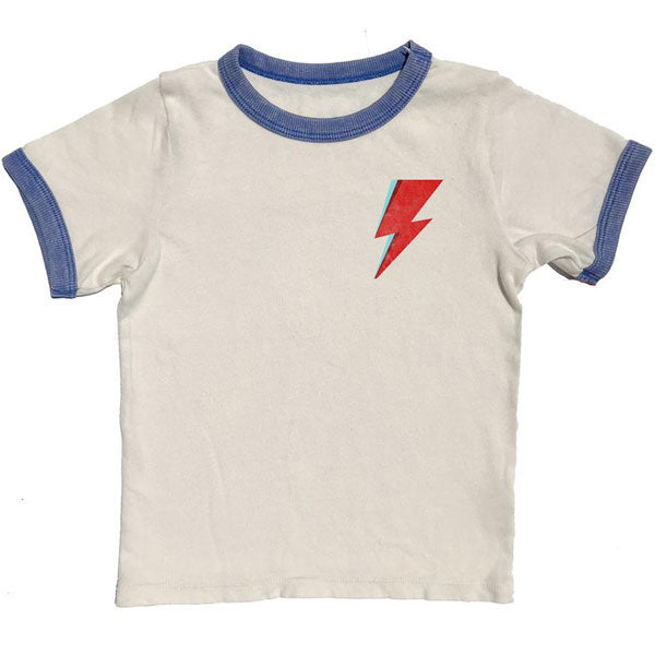 546a24c5 David Bowie Kids T-Shirt - Aladdin Sane Lightning