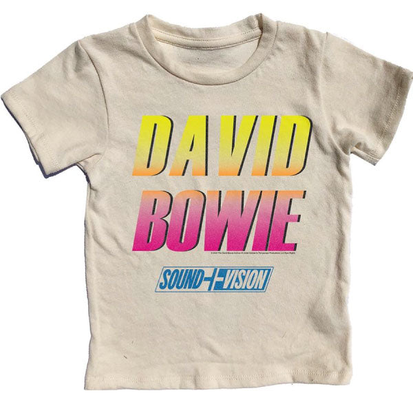 David Bowie Kids T-Shirt - Sound and Vision