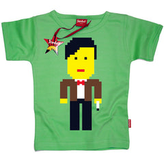 Lego Dr Who Kids T-Shirt by Stardust