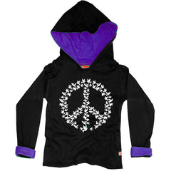 Doves of Peace Kids Hoody by Stardust