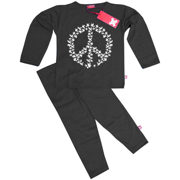 Doves of Peace Kids Pyjamas by Stardust