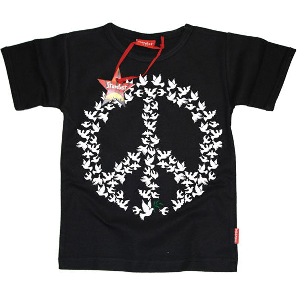 Doves of Peace Kids T-Shirt by Stardust