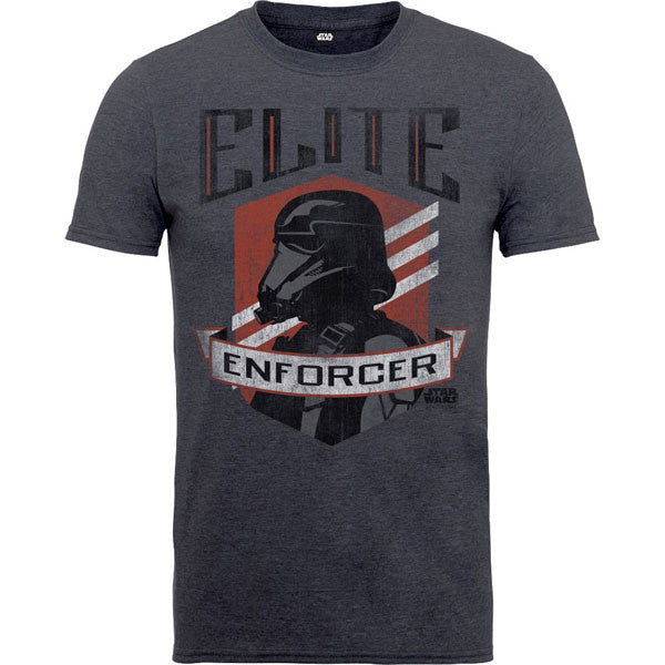 Star Wars Kids T-Shirt Charcoal - Rogue One Elite Enforcer