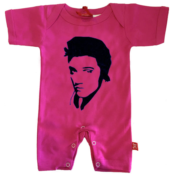 Elvis Face Baby Romper by Stardust