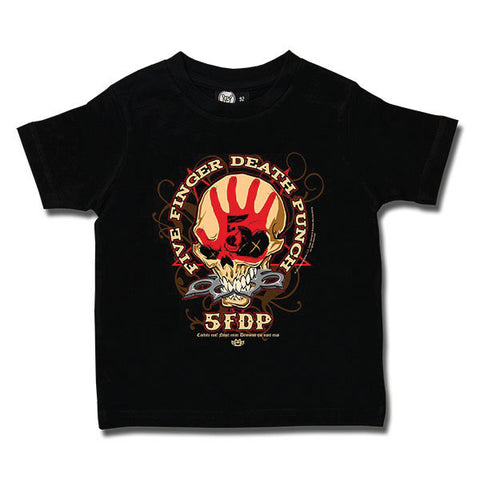 Five Finger Death Punch Kids T-Shirt - Knucklehead
