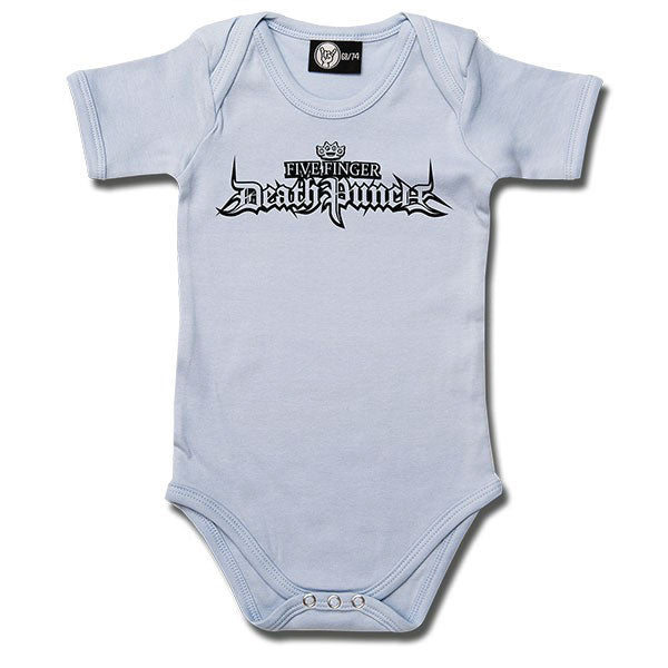 Five Finger Death Punch Babygrow Logo - Blue