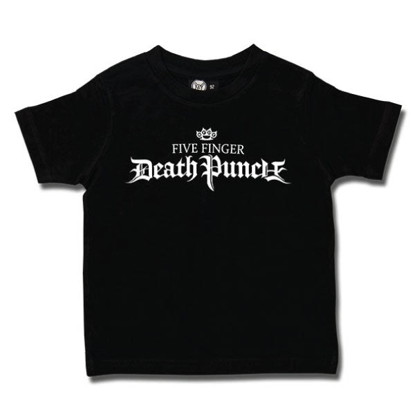 Five Finger Death Punch Kids T-Shirt Logo - Black