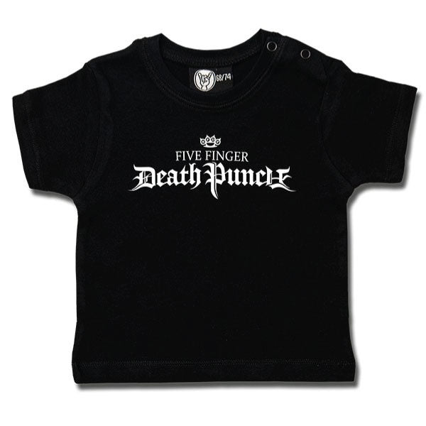 Five Finger Death Punch Logo Baby T-Shirt - Black