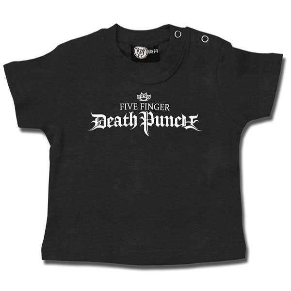 Five Finger Death Punch Logo Baby T-Shirt - Grey