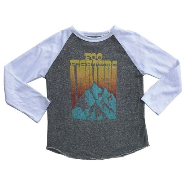 Foo Fighters Kids T-Shirt - Logo and Mountain