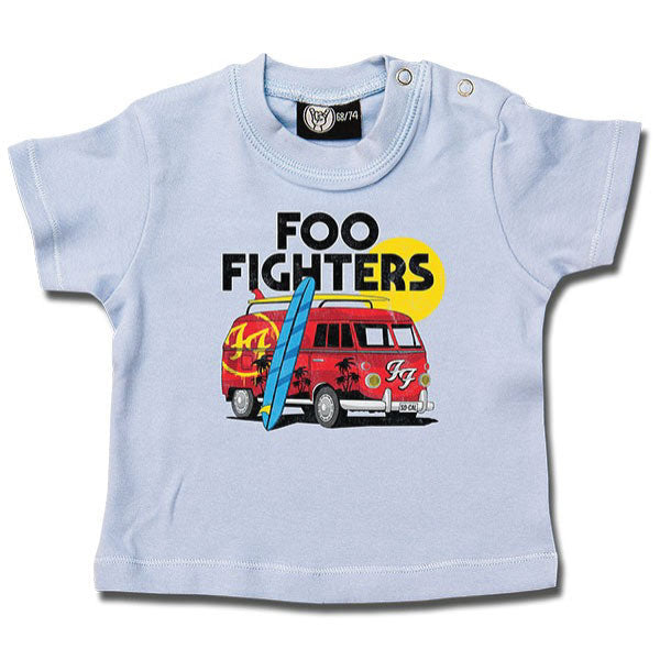 Foo Fighters Van Baby T-Shirt - Blue