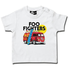 Foo Fighters Van Baby T-Shirt - White