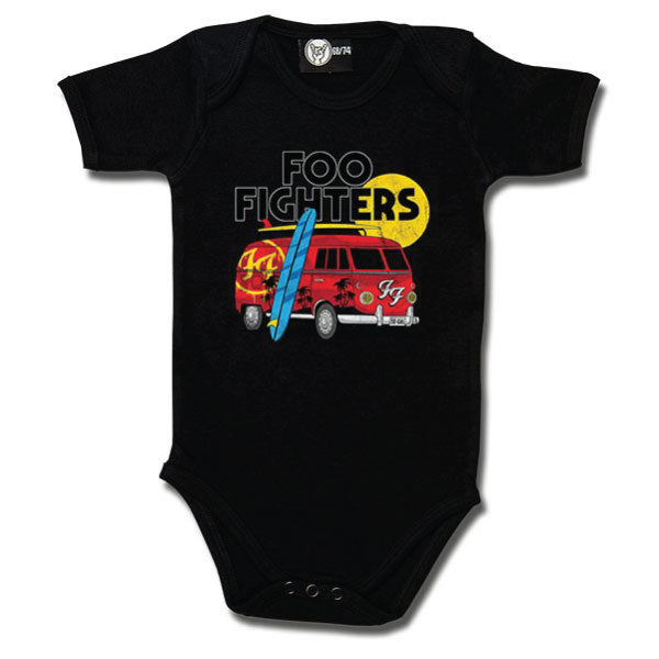 Foo Fighters Van Babygrow - Black