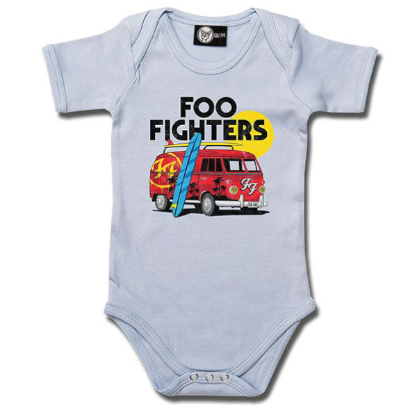 Foo Fighters Van Babygrow - Blue