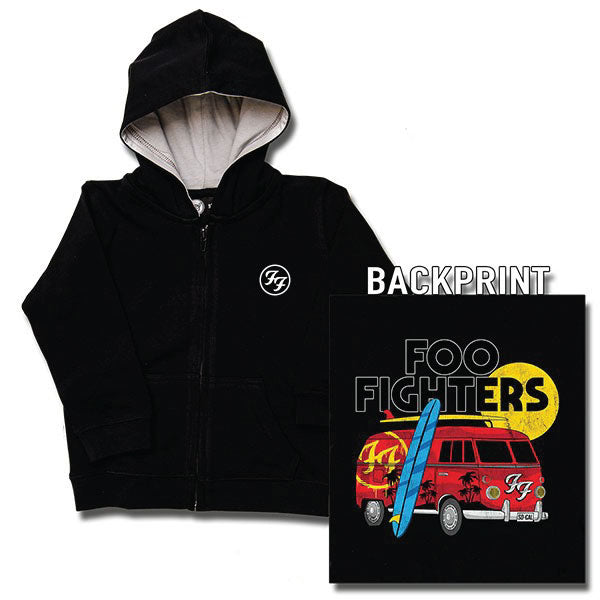 Foo Fighters Van Kids Hoody - Black