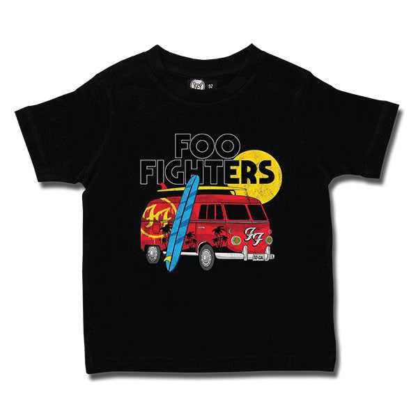 Foo Fighters Van Kids T-Shirt - Black