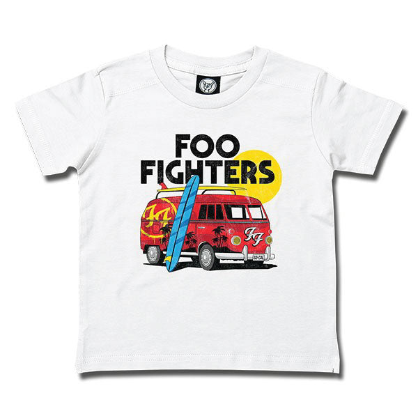 72a48f20819 Foo Fighters Van Kids T-Shirt - White – KidVicious.co.uk