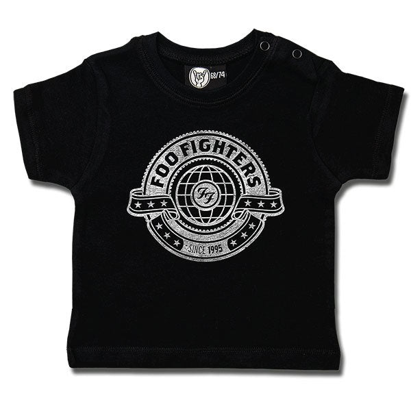 Foo Fighters World Baby T-Shirt - Black