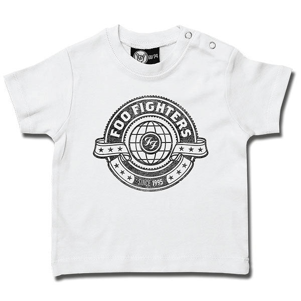Foo Fighters World Baby T-Shirt - White