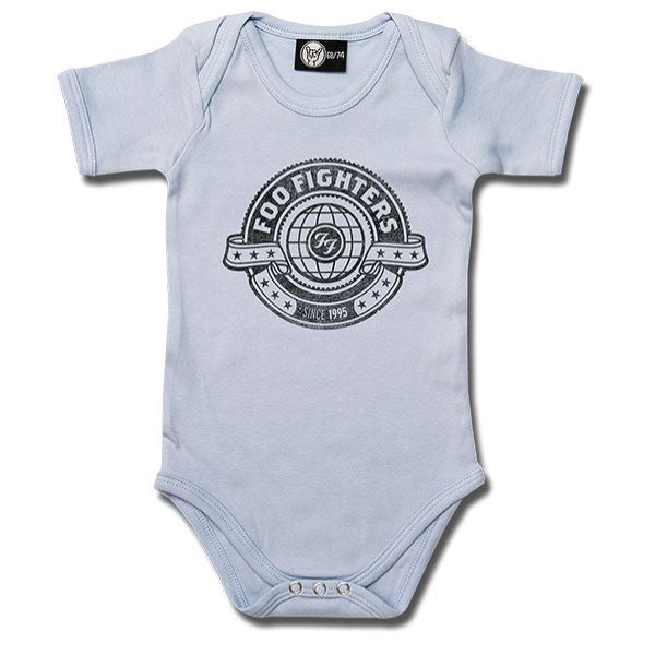 Foo Fighters World Babygrow - Blue