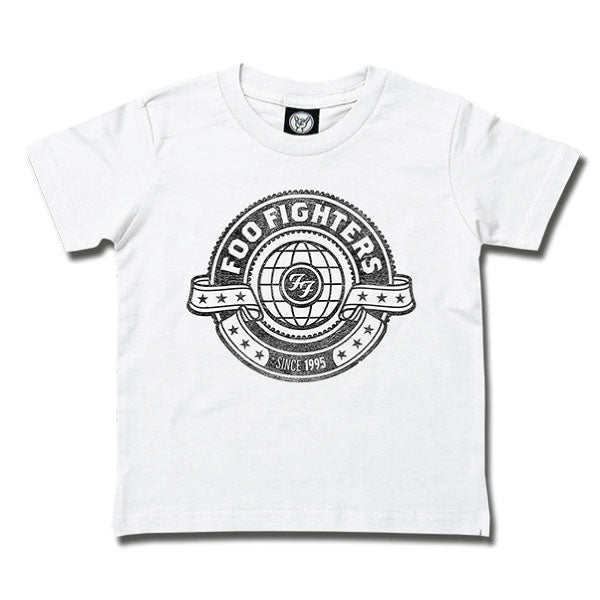 Foo Fighters World Kids T-Shirt - White