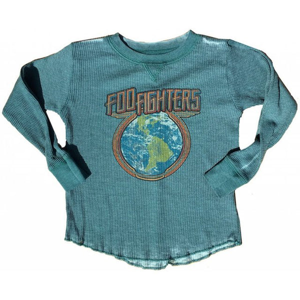 Foo Fighters Kids Burnout T-Shirt - Long Sleeved