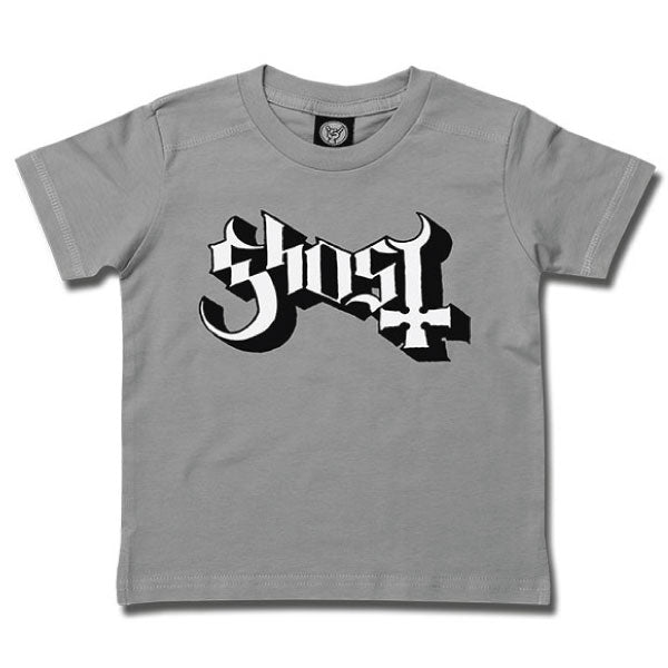 Ghost Kids Grey T-Shirt - Ghost Logo