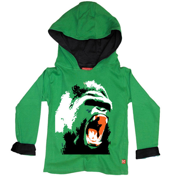 Cool Gorilla Kids Hoody by Stardust