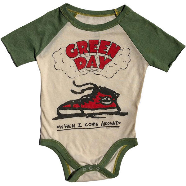 Green Day Babygrow - When I Come Around