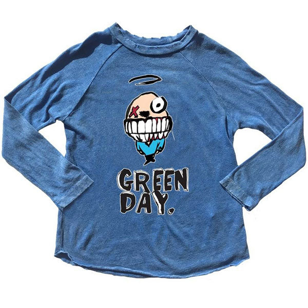 Green Day Kids Long Sleeve T-Shirt - Character