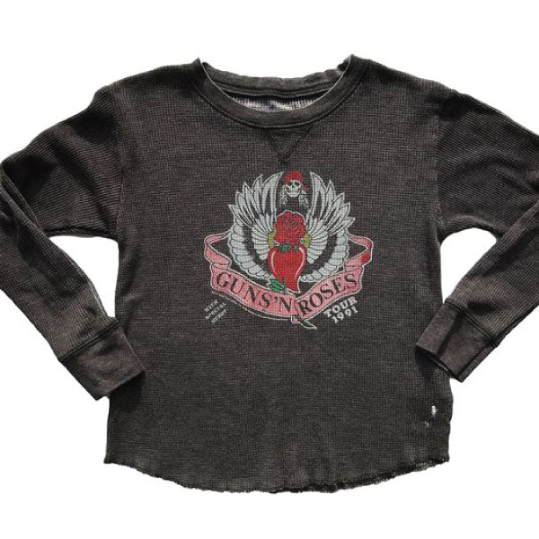 Guns 'N' Roses Baby Thermal T-Shirt - 1991 Tour