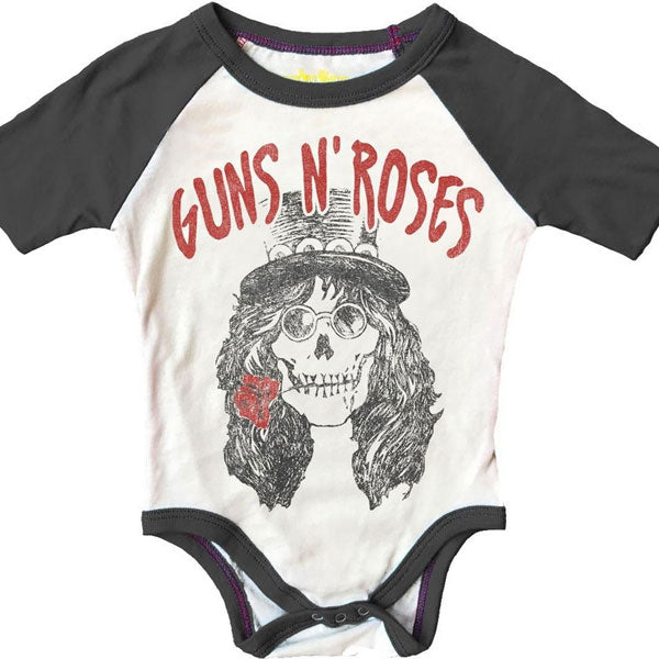 Guns 'N' Roses Babygrow - Skull Artwork