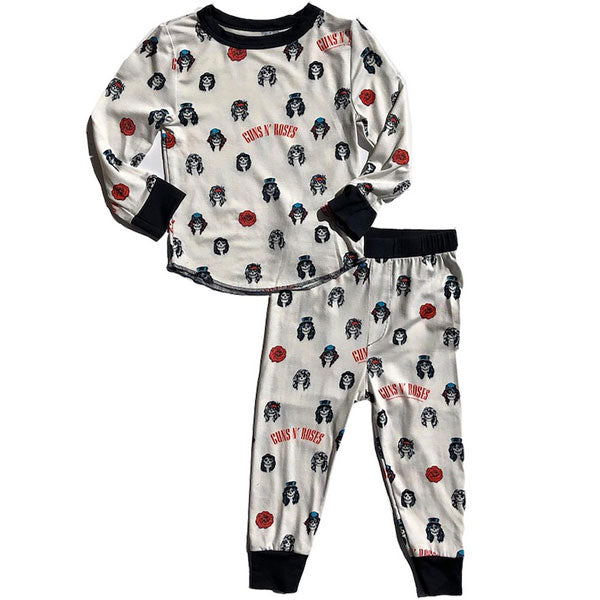 Guns N Roses Kids Pyjamas - Skulls