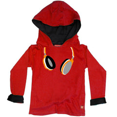 Kids Headphones Hoody by Stardust