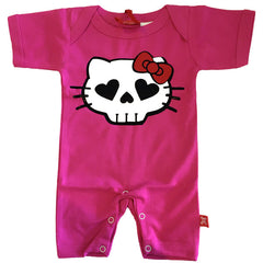 Hell Kitty Baby Romper by Stardust