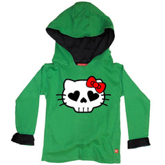 Hell Kitty Kids Hoody by Stardust
