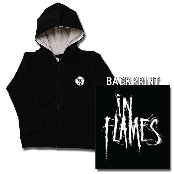 In Flames Baby Hoody - Black